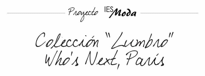 Colección Who's Next Lumbro 2015